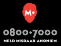 Meld Misdaad anoniem! 0800-7000