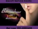 Escort aan Hotel Hotel Escorts Exotic Noord oost Nederland